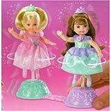 : Barbie Spinning Ballerinas Kelly Dolls 2 Pack ~ Pink & Blue