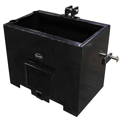 Amazon.com: Titan Distributors Inc. Caja de balasto de 3 ...