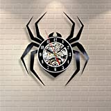 Spider Insect Design Decor Vinyl Record Clock Home Room Art