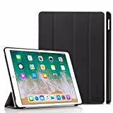 EasyAcc Case For iPad Pro 10.5, Ultra Slim Smart Case Cover with Auto Sleep Wake-up/Stand Function Compatible with iPad Pro 10.5 inch (Premium PU Leather, Black)