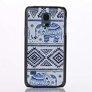 Teléfono Móvil Samsung - Cobertor Posterior - Gráfico/Dibujos Animados - para Samsung Galaxy Mini S5 ( Multi-color , Plástico )