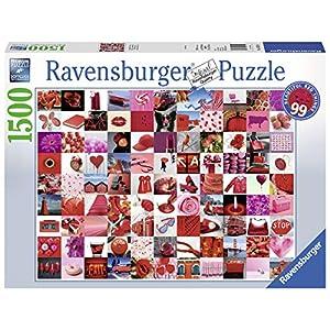 Ravensburger 16215 99 Belle Cose Rosse Puzzle 1500 Pezzi