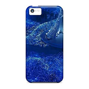 Top Quality Case Cover For Iphone 5c Case With Nice Creative Lighted Concert Stage Appearance