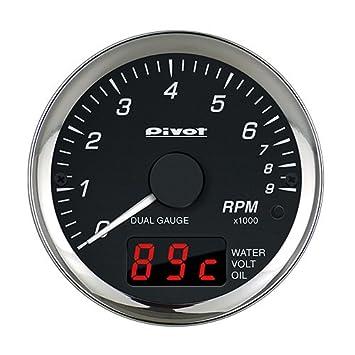 amazon pivot ピボット メーター dual gauge pro タコメーター