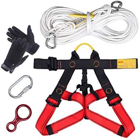 登山ロープセット, ホーム火災避難救助ロープエスケープロープ補助ロープジム登山ロープ10m
