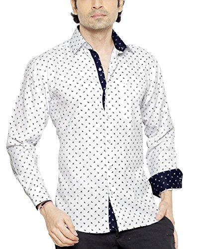 Franco Romano Herren Regular Fit Freizeithemd
