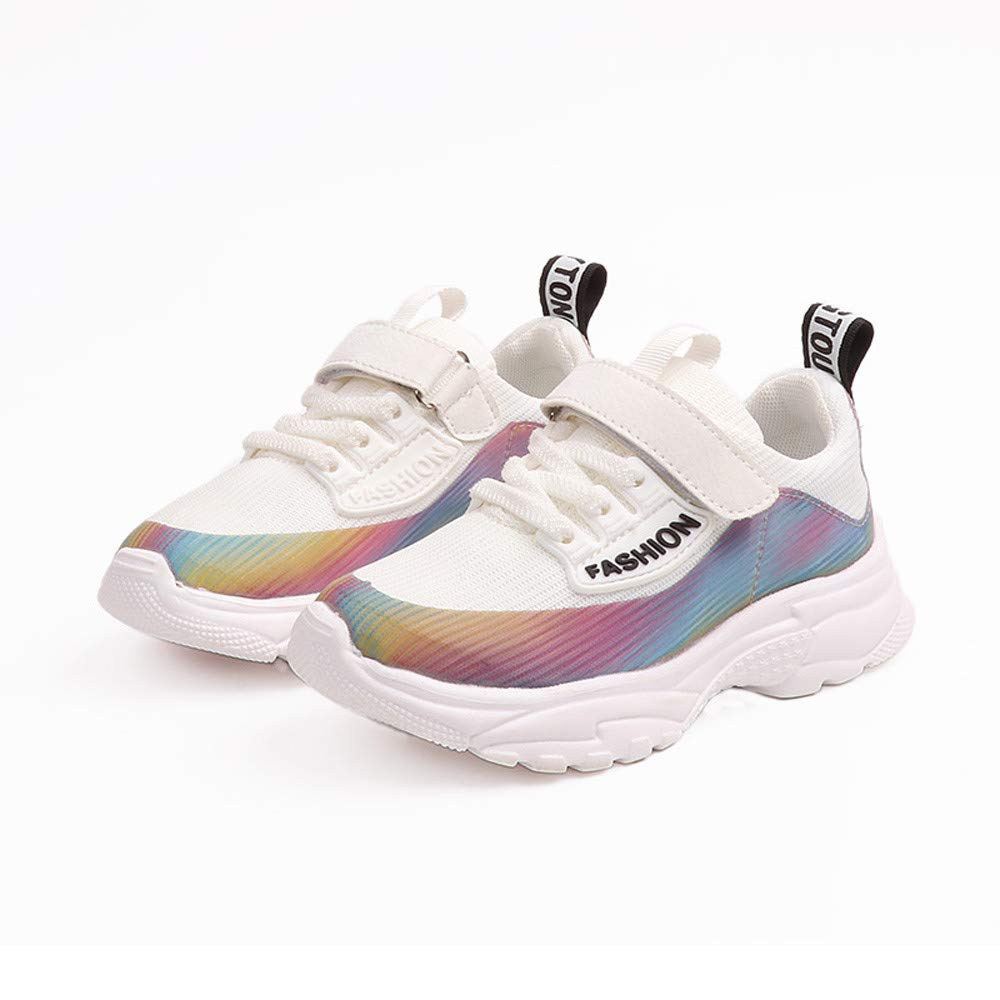 ❤ Sneakers para niños, Toddler Kids Sport Running Zapatos para bebés Boys Girls Print Mesh Shoes Sneakers Absolute: Amazon.es: Ropa y accesorios