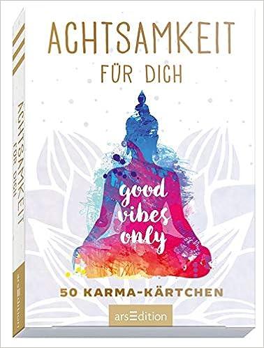 Achtsamkeit Fur Dich 50 Karma Kartchen Schon Gestaltete