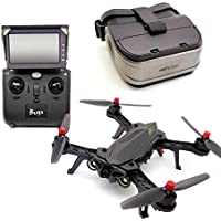USAQ B6 Bugs Brushless Racing Drone Ready-to-Fly FPV Quadcopter with Camera/Battery/Charger/Monitor/Goggles