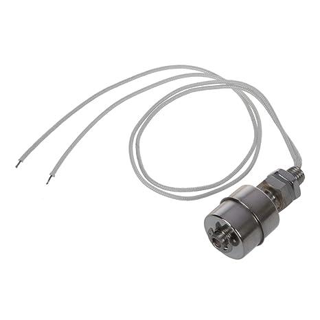 SODIAL(R) Interruptor de flotador horizontal del nivel de agua liquido del sensor del