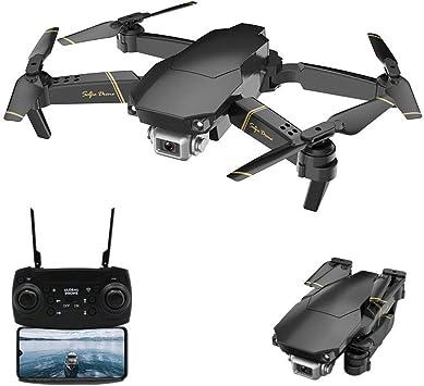 Opinión sobre Adsvtech WiFi FPV Drone con cámara 1080 HD para Principiantes Cuadricóptero RC Plegable, conmutación de Doble Disparo, 15 Minutos de Tiempo de Vuelo, posicionamiento de Flujo óptico