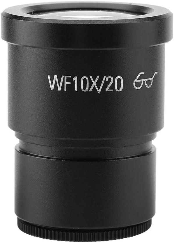 ROSEBEAR 1pc WF10X//20 Wide Field Stereo Microscope Eyepiece Mounting Size 30mm