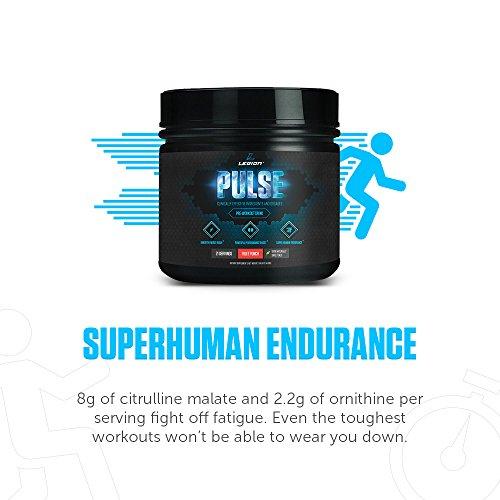 Legion Athletics Legion Pulse Pre Workout Supplement - 21 Serving - Grape