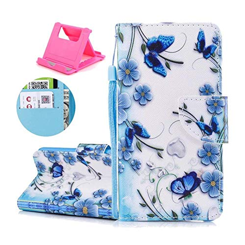 Free Stand Feature Protective Luxury Cover Color Case x 10 Cover Stand Smartphone and Closure Wallet Slot X inches Card 1 PU Leather 11 pattern with Flip 8 colorful 5 R Painting iPhone Is Stand Case Katech iPhone of Magnetic qwfCUBw
