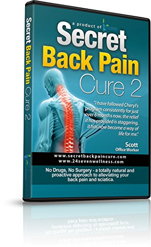 - Secret Back Pain Cure 2 DVD by 24Seven Wellness and Living. Back Relief Strength Program Designed to Promote Improved Stability and Posture. A Natural Program for Relief of Lower, Upper and Neck Pain.