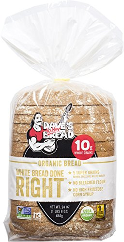 Dave's Killer Bread - White Bread Done Right - 4 Loaves - USDA Organic by Dave's Killer Bread
