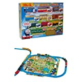 Tomy Thomas Thomas and full freight car set clean up the play map set