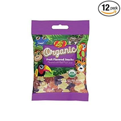 Jelly Belly – Organic Fruit Snacks – Assorted – 2.12 oz – 12 ...