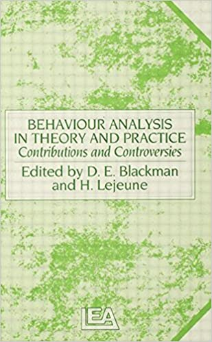 Behaviour Analysis in Theory and Practice: Contributions and Controversies