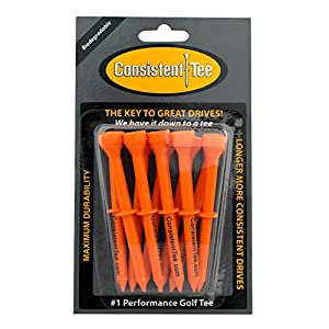 Consistent Tee Beveled Biodegradable 3-1/4 10-Pack Tees