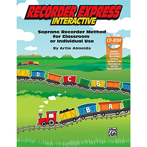 Alfred Recorder Express Interactive Interactive CD for Whiteboard (Recorder Express Cd)