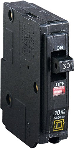 1P Standard Plug In Circuit Breaker 30A 120//240VAC SQUARE D QO130