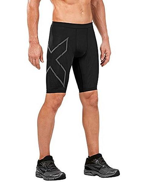 Details about  /2XU MCS Run Compression Mens Short Tights Black