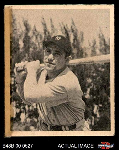 1948 Bowman # 6 Yogi Berra New York Yankees (Baseball Card) Dean's Cards 1 - POOR (1948 New York Yankees)
