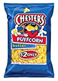 Chester's Puffcorn, Butter, 54 Ounce (Pack of 12)