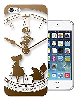 459 - Vintage Clock Alice In Wonderland Design iphone 6 6S 4.7'' Fashion Trend CASE Gel Rubber Silicone All Edges Protection Case Cover