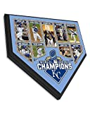 Kansas City Royals 2015 World Series Champions Collectible Home Plate Baseball Plaque - 11.5 x 11.5 Photo - Licensed MLB Baseball Collectible