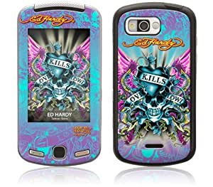 Zing Revolution MS-EDHY30056 Samsung Moment- SPH-M900- Ed Hardy- Love Kills Skin