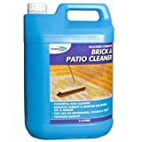 Bond-It Brick & Patio Acid based Cleaner - 5 Litre, A Powerful acid based cleaner that will remove cement and mortar splashes, grime, oil, grease and other stains on brickwork, patios, garages, paving, concrete floors and warehouses by Bond-It