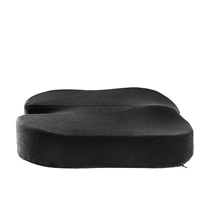 Amortiguador de asiento de lujo cómoda cura coxis memoria espuma ...