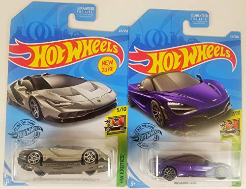 Hot Wheels HW Green Speed Bundle Tesla Model 3 White 174/250 and Porsche Panamera Turbo S E Hybrid Sport Turismo Grey 202/250 2 Car Bundle Set