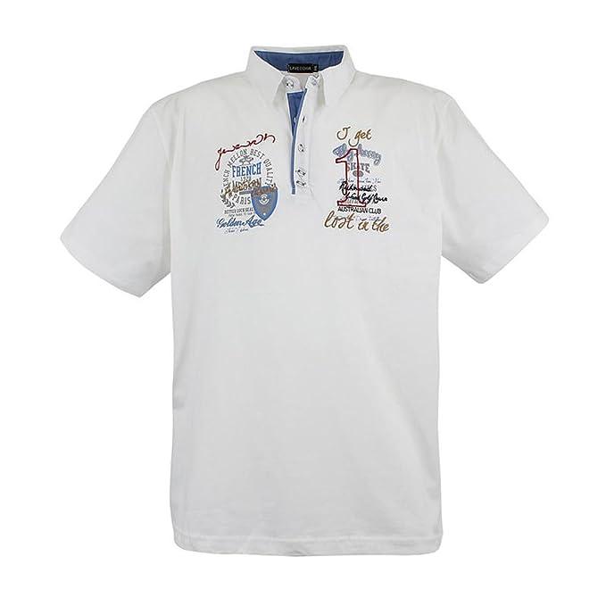 Lavecchia Australian Club Polo tee Camiseta para Hombre, Talla ...