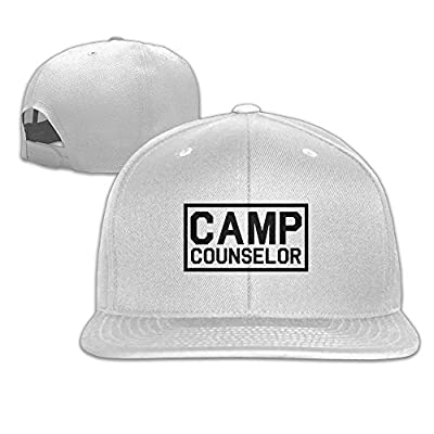 Womens Camp Counselor Hip Hop Strapback Sun Visor Operater Hat