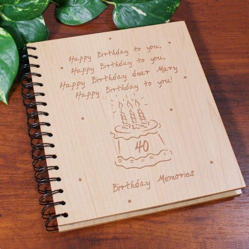 Recuerdos álbum de fotos de cumpleaños, personalizado, con ...