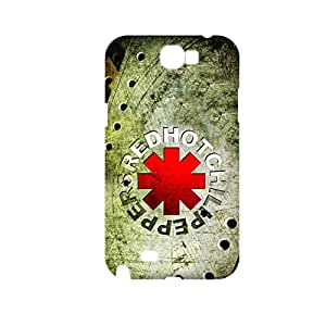 Generic Durable Phone Cases Design With Red Hot Chili Peppers For Samsung Galaxy Note2 Full Body Choose Design 1-2