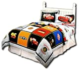 Disney Pixar Cars Full/Queen Handcrafted Quilt