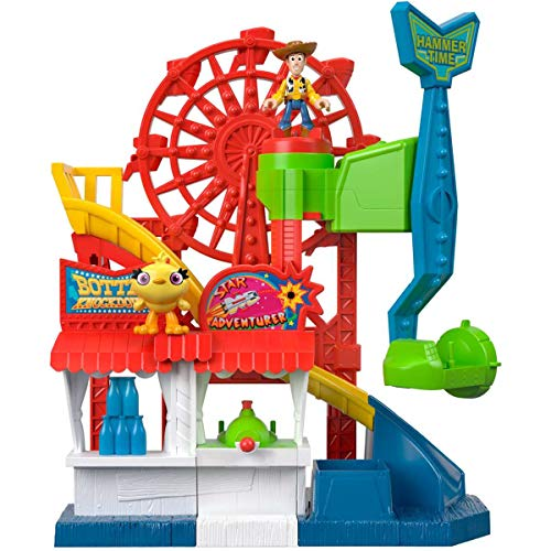 Toy Story Fisher-Price Imaginext Playset Featuring Disney Pixar Carnival from Toy Story