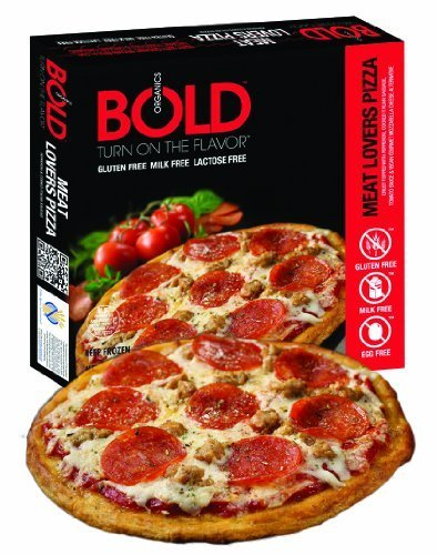 Bold Organic Meat Lovers Pizza, 12.5 Ounce -- 12 per case. by Bold Pizza