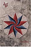 Stargello Quilt Pattern, by Phillips Fiber Art, Finished Size 40'' x 42'' Decagon