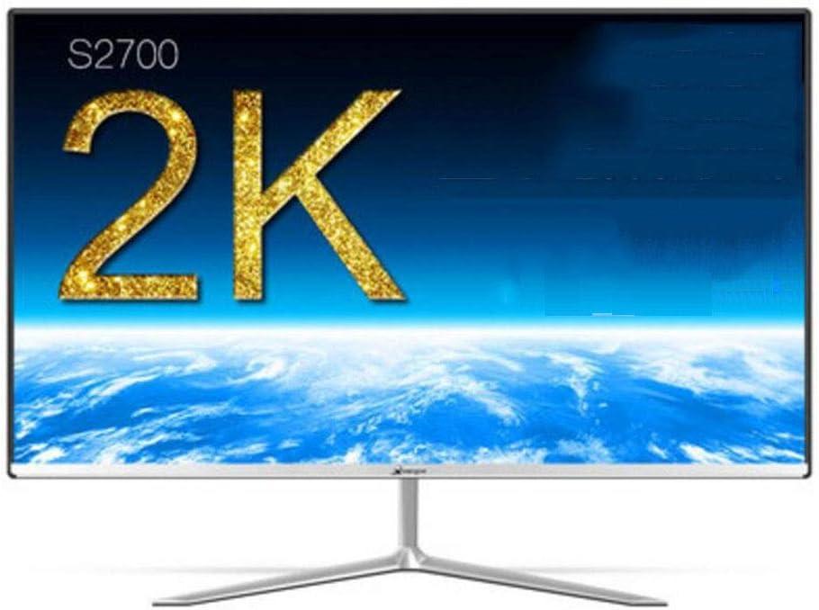 GHGJU Pantalla De 27 Pulgadas Pantalla De 2K Esports Juego De Escritorio Pantalla LCD De Computadora HD LCD De Lado Estrecho For Tipo De Interfaz HDMI VGA DC: Amazon.es: Electrónica