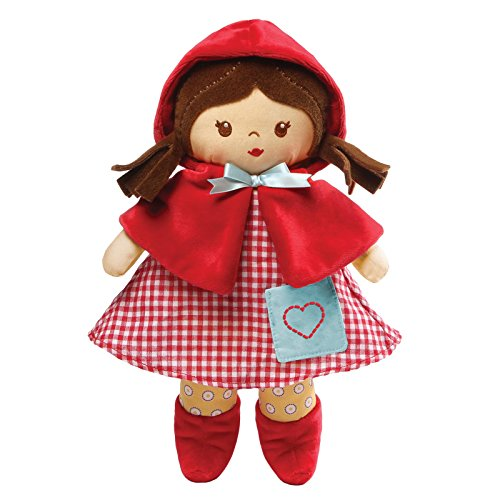 "Baby GUND Red Fairy Tale Stuffed Plush Doll Toy, 13"" from GUND"