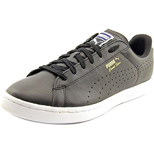 Puma Mens Court Star Crafted Leather Fashion Sneaker, Negro, 42.5 D(M) EU/8.5 D(M) UK