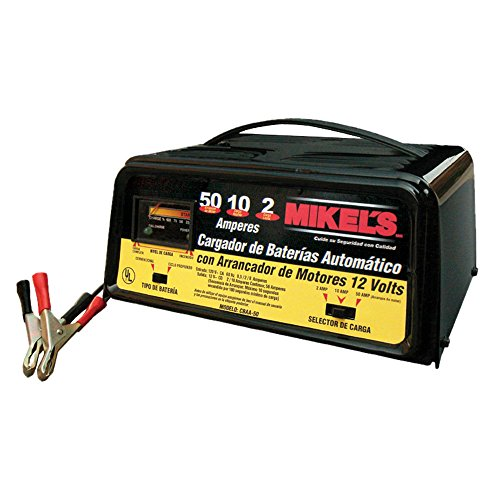 Mikels CBAA-50 Cargador de Baterías Automático con Arrancador 2 / 10 / 50 A