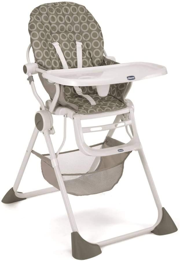 كرسي غداء مرتفع بجيب، CH79341-1، بلون اخضر