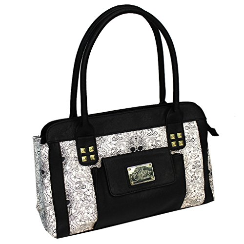 Sullen Angels Two Tone Logo Bag (Black/White)