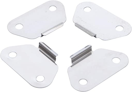 4pcs Motorcycle Saddlebag Lid Wear Plates Strike Plates Fits For Harley Touring Road Glide King,90962-93